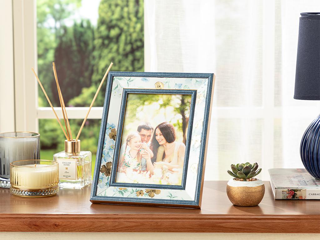 Floret Frame 13x16 Cm Blue