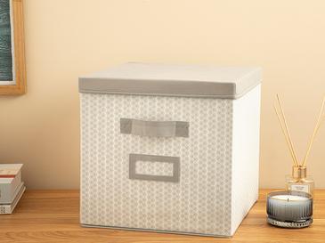 Comb Кутия За Съхранение 30x30x20 Cm Сиво