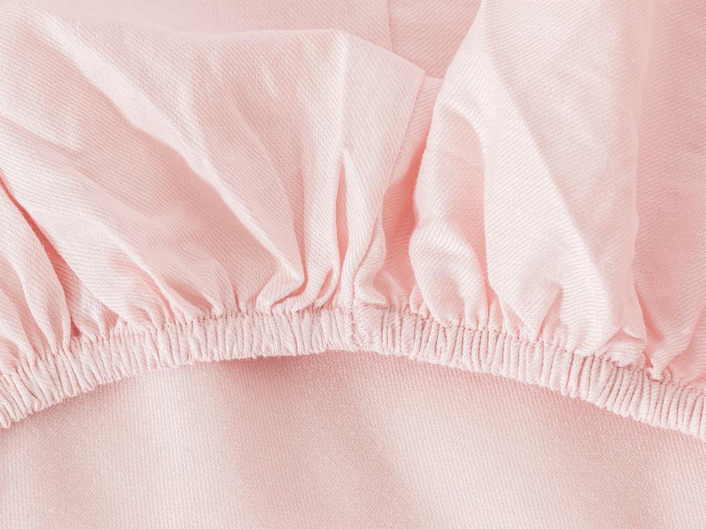 Crystal İpeksi Twill Super King Duvet Cover Set 260x220 Cm Pink