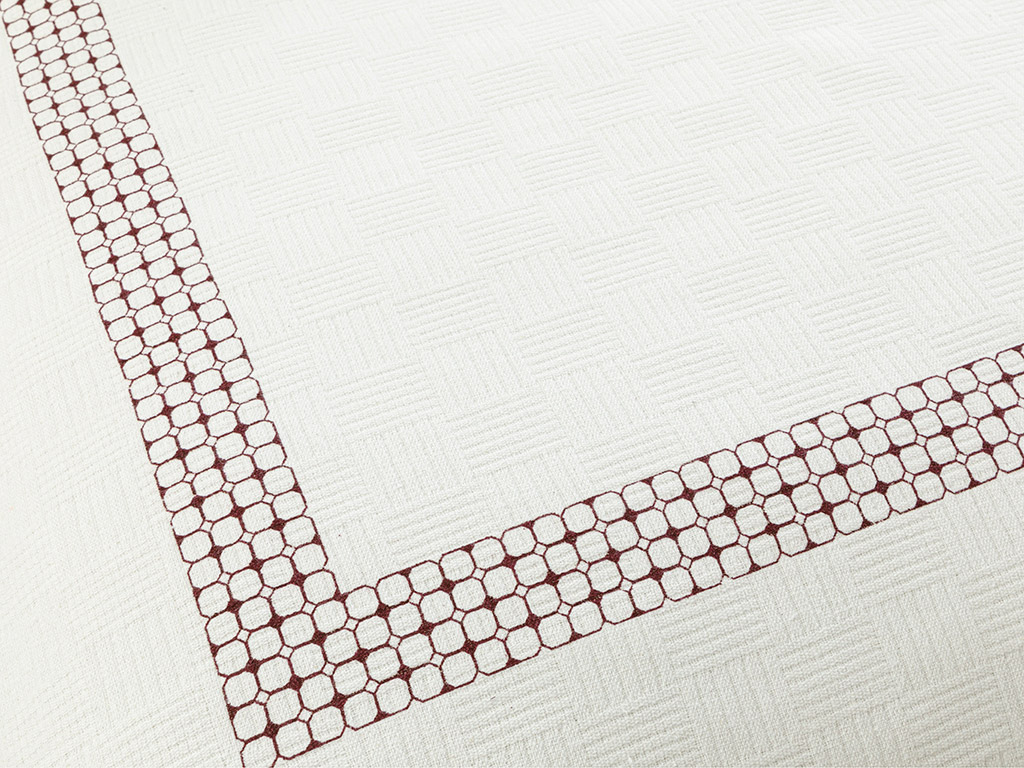 Double Person 200x220 Cm. Claret Red