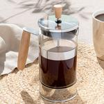 Bamboo Stainless Steel French Press 35,0x32,5x10,5 Cm