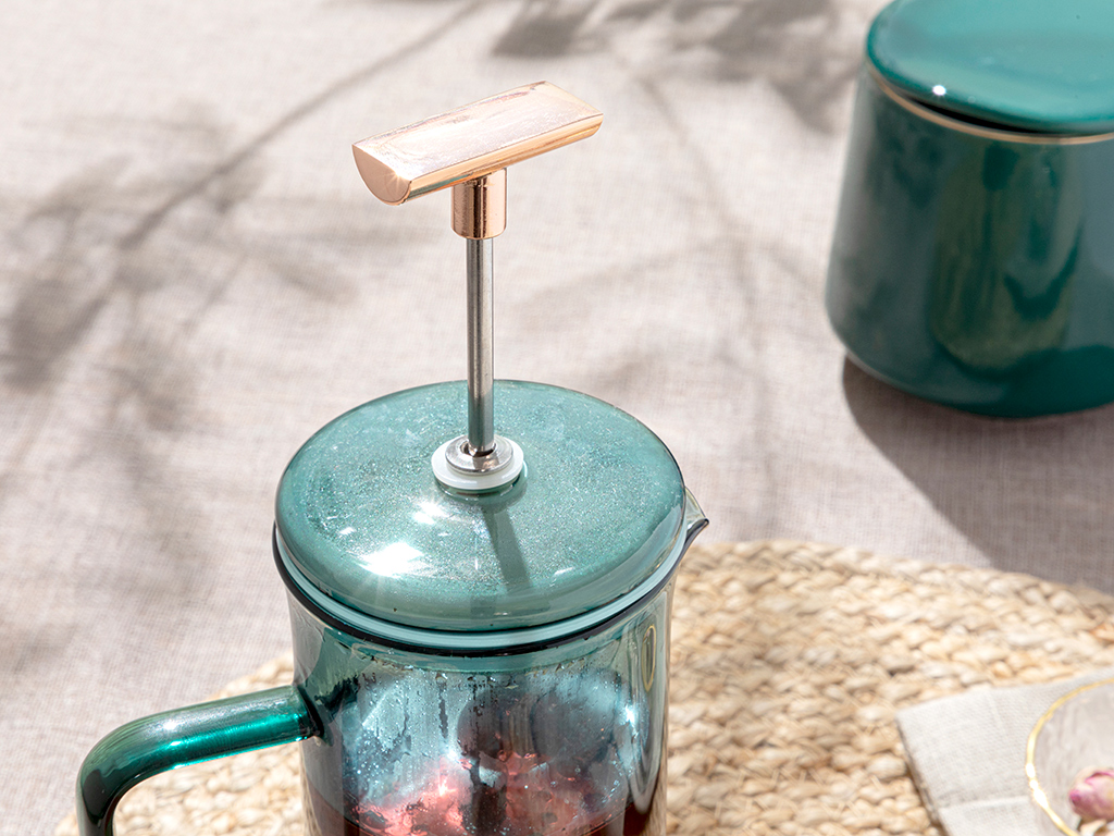 Stainless Steel French Press 35,0x32,5x10,5 Cm Green