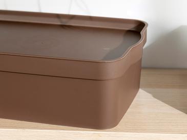 Basıc Кутия За Съхранение Brown,