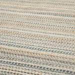 Modern Chic Chiffon Anti Slip Carpet 80x150 Cm Light Gray