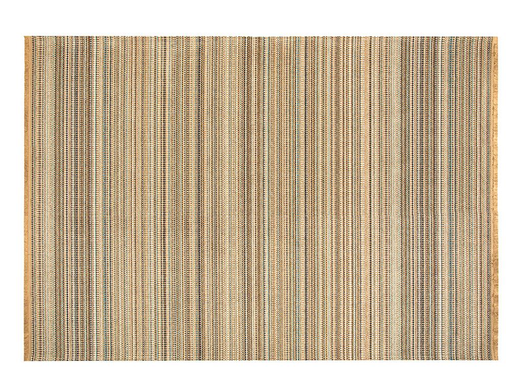 Modern Chic Chiffon Anti Slip Carpet 120x180 Cm. Brown,