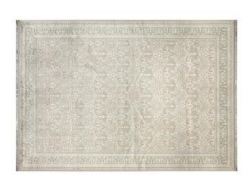 Roman Килим Подложка Против Хлъзгане Жакардово Кадифе 8,7x2,0x18,5 Cm Бежово-сиво