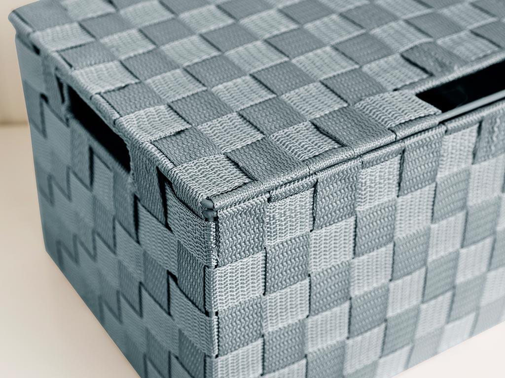 Shine Saklama Kutusu 34x22x17,5 Cm Açık Mavi