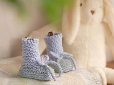 Natural Бебешки Чорапи 61,0x21,5x41,5 Cm Blue