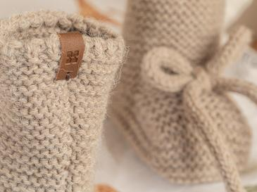 Natural Бебешки Чорапи 61,0x21,5x41,5 Cm Beige