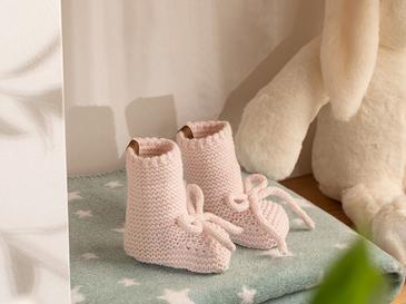 Natural Бебешки Чорапи 61,0x21,5x41,5 Cm Розов