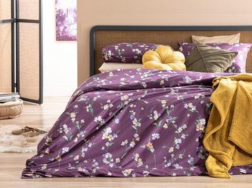 Комплект Спално Бель Единични Памучен 160x220cm Слива