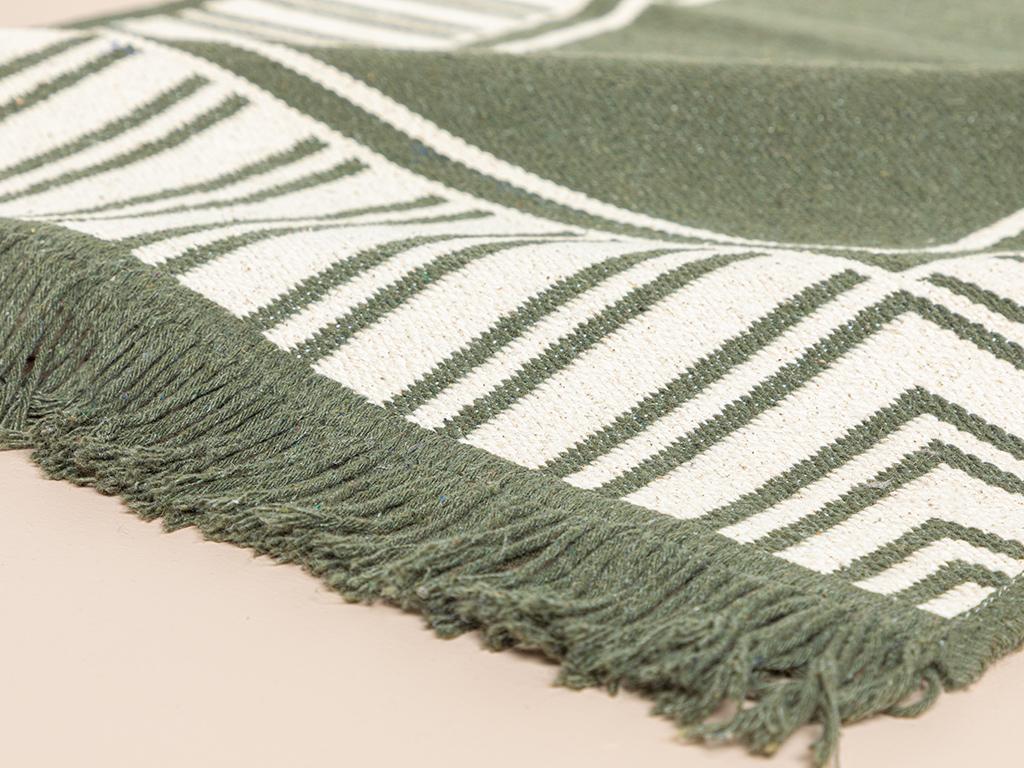 Rash Weaved Rug 120x180 Cm. Khaki