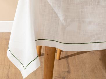 Tropical Покривка За Маса Полиестер 15,9x15,9x15,7 Cm Бяло-зелено