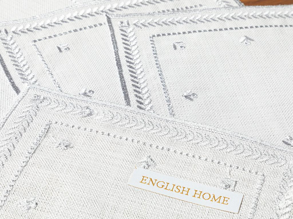 Kimmy Polyestere 6 Set 14x14cm Gray