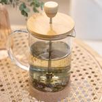 Marsha Bamboo Stainless Steel French Press 60 Mm