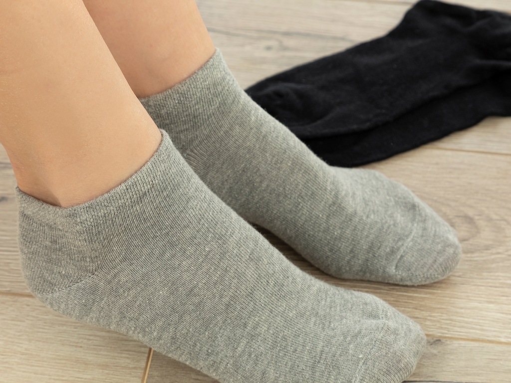 Melissa Cotton Socks Mix Black-gray